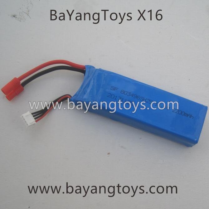 Bayangtoys X16 11.1V battery
