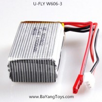 Huajun U-FLY W606-3 Drone battery