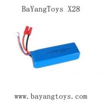 BAYANGTOYS X28 Drone parts-7.4V 2000mAh Battery