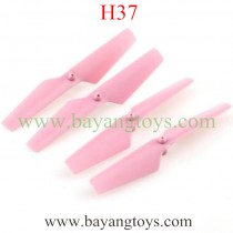 JJRC H37 Drone main Blades PINK