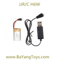 JJR/C H6W remote control drone Battery and USB
