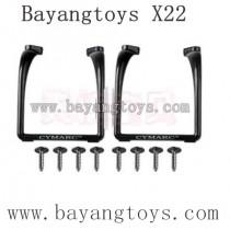 BAYANGTOYS X22 Parts Landing-Gear with Screws