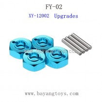 FEIYUE FY02 Upgrades Parts-Metal Hexagon Set XY-12002