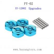 FEIYUE FY02 Upgrades Parts-Metal Hexagon Set XY-12002