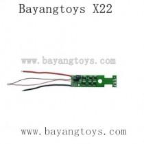 BAYANGTOYS X22 Parts ESC Board
