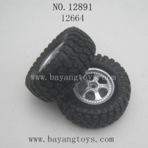 HAIBOXING 12891 Parts-Tires Complete