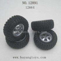 HAIBOXING 12891 Parts-Wheels Complete