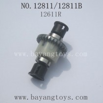 HBX 12811B 12811 Parts-Diff. Gears Complete