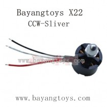 BAYANGTOYS X22 Parts Brushless CCW Motor with Sliver Cap