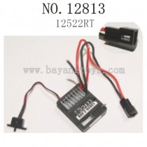 HBX 12813 SURVIVOR MT Parts-ESC Receiver 12522RT