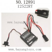 HAIBOXING 12891 Parts-ESC Receiver 12522RT