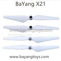BayangToys X21 Drone Propellers Upgrade