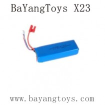 BAYANGTOYS X23 Parts 7.4V 1100mAh Battery
