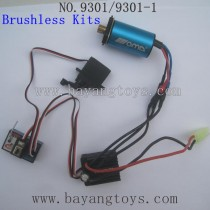 PXToys 9301 Car Upgrades parts-Brushless Motor