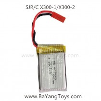 SJRC X300 Quadcopter lipo battery