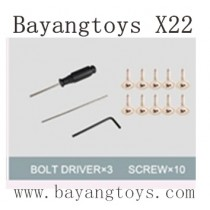 BAYANGTOYS X22 Parts Driver and Screws Tool Package