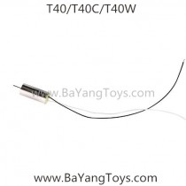 SJRC T-series T40 Quadcopter motor black wire