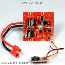 SJRC T-Series T70CW VR Quadcopter pcb board
