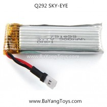 Wltoys Q292 FPV Quadcopter battery