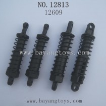HBX 12813 SURVIVOR MT Parts-Original Shocks Complete 12609