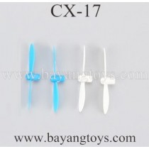 Cheerson CX-17 Quadcopter Main Blades Blue