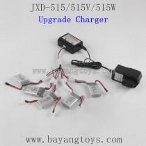 JinXingDa JXD-515W 515V Parts Battery and Upgrade Charger