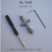 PXToys 9300 Parts-2MM Inside Hexagon Wrench