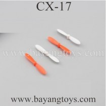 Cheerson CX-17 Quadcopter Main Blades Red