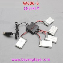 Huajun w606-6 qq-fly Battery