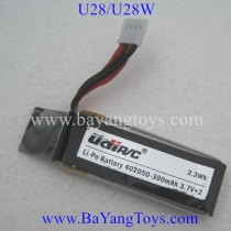 Udirc U28-1 u28w Drone Battery
