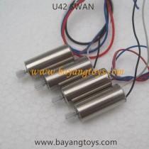 Udirc U42 SWAN Quadcopter motor kits