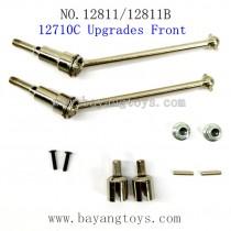 HBX 12811B 12811 Parts-Front Metal Drive Shafts