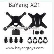 BayangToys X21 Drone Body Shell motor cover