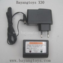 BAYANGTOYS X30 Parts-EU Plug Charger With Balance Box