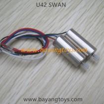 Udirc U42 Quadcopter motors A B