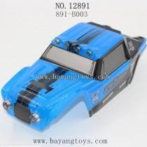 HAIBOXING 12891 Parts-Car Shell Blue 891-B003