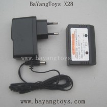 BAYANGTOYS X28 Parts-US Plug Charger With Balance Box