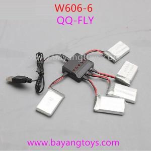 Huajun w606-6 qq-fly Battery