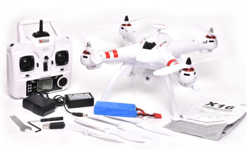 Bayangtoys X16 drone with brushless motor