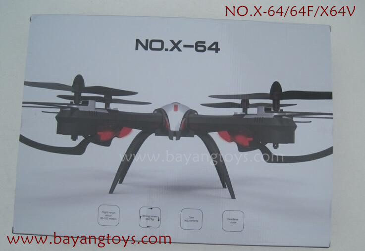 XINXUN NO.X-64 Drone stunt